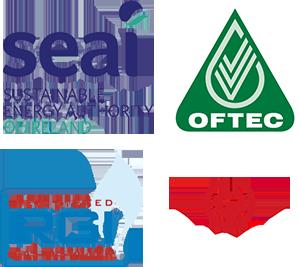 SEAI - OFTEC - RGI - CALOR - Logo