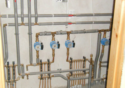 Heat Pump Pipe System installed by PJ firman